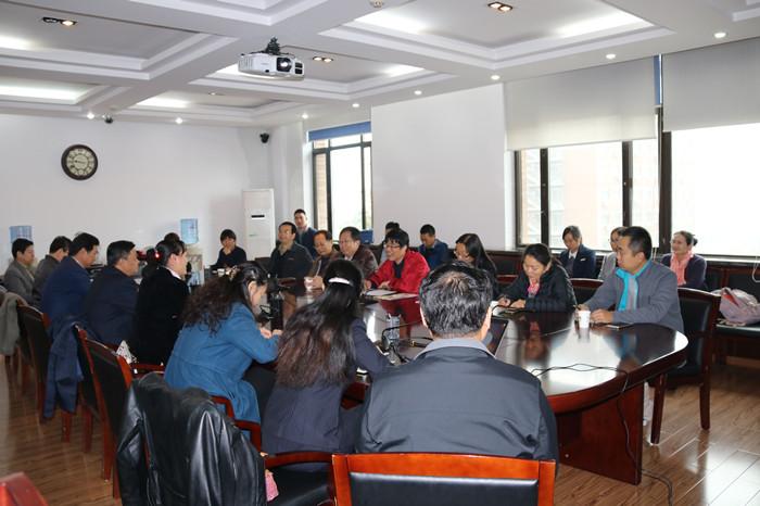 在中国农大园艺学院蔬菜系交流-蔬菜系教师赴中国农大和中国农科院图片